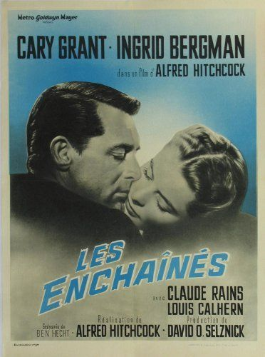 NEW Ingrid Bergman Claude Rains Notorious Movie POSTER 11 x 17 A Cary Grant