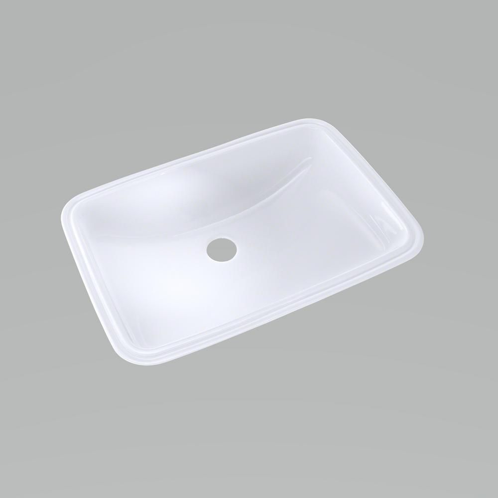 Toto 19 In Undermount Bathroom Sink With Cefiontect In Cotton