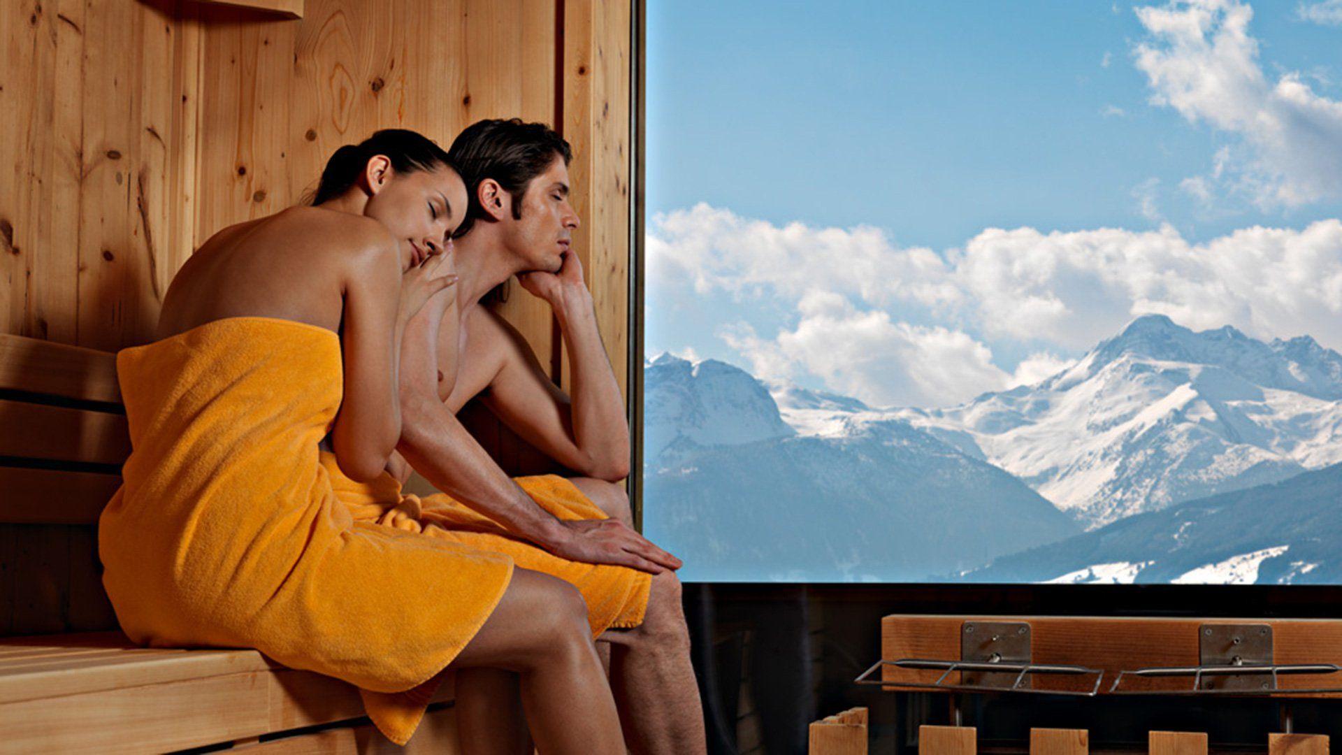 Sauna mit Panorama