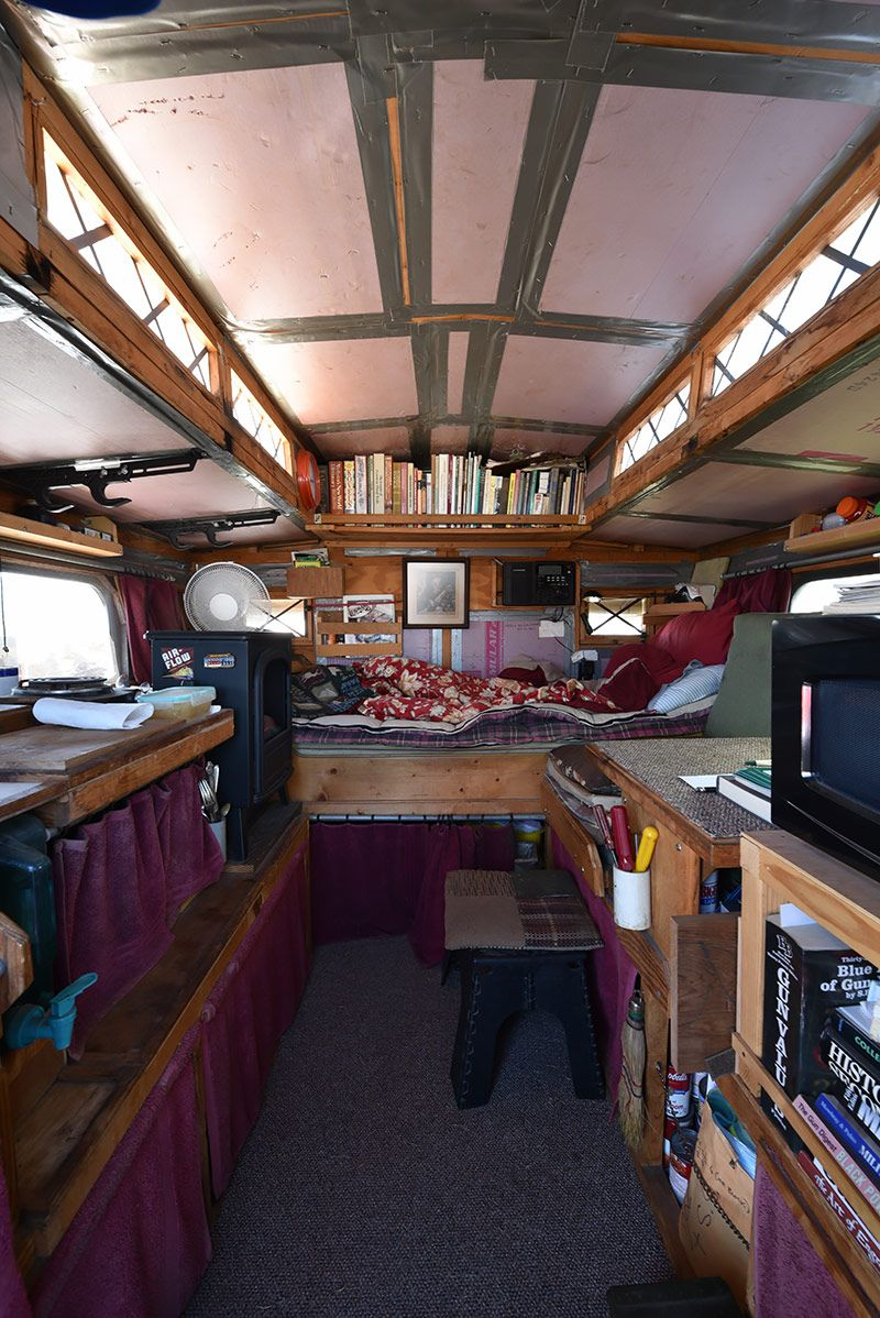 Gypsy Homemade Truck Camper Inside Truckcampermagazine Lifestyle Totally Lost Forever