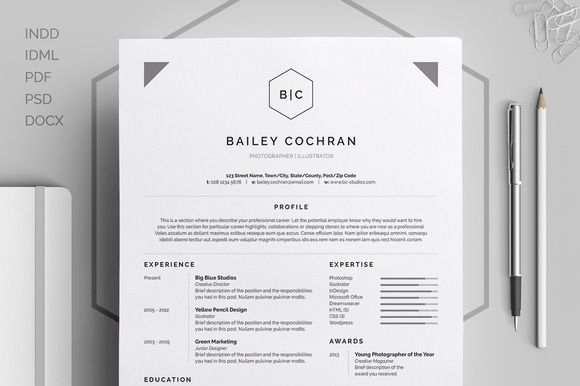30 Sexy Resume Templates Guaranteed to Get You Hired Resume cv Cv