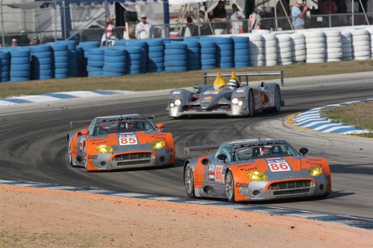 Spyker C8 Spyder GT2R (Audi) - 2006 - Le Mans*
