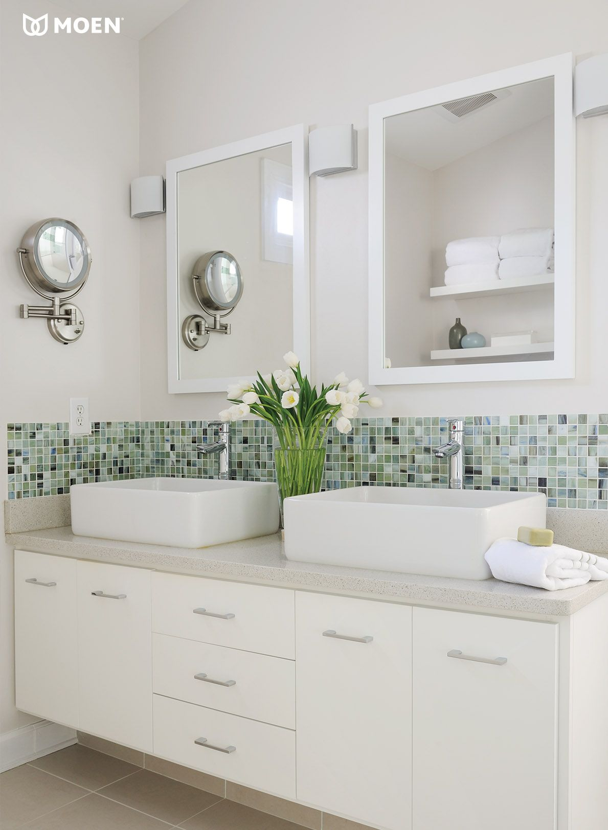 The Clean Lines And Chrome Finish Of Our Align Faucets Add A Touch