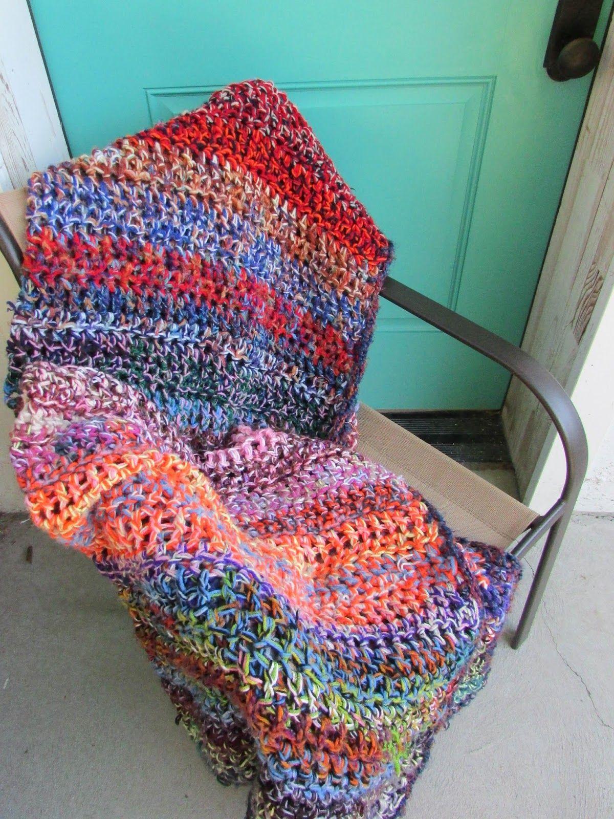 Stash-Busting Crochet Afghan | Häkeln und Basteln