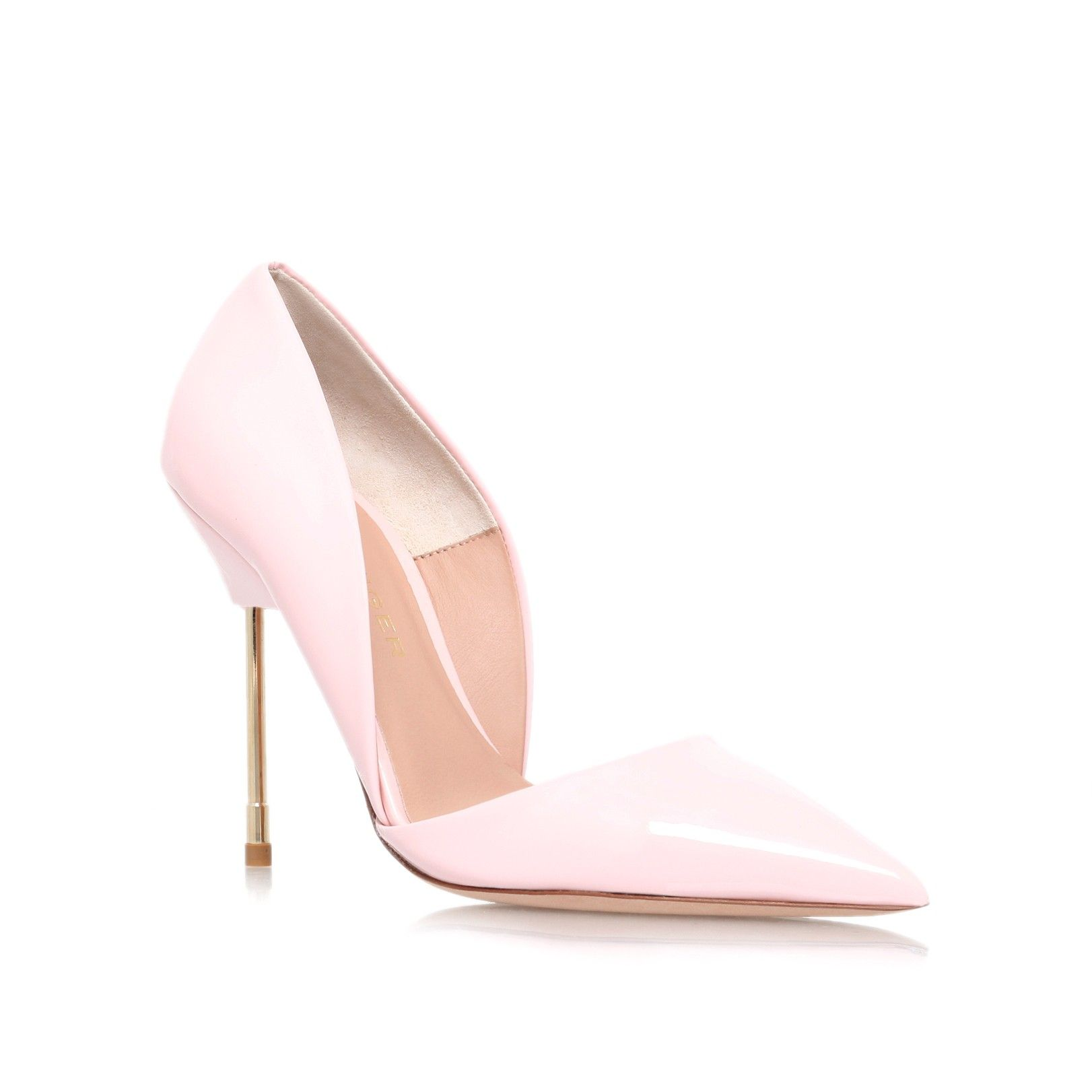 bond pink high heel court shoes from Kurt Geiger London