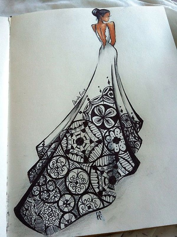 Photo of 40 Absolutely Beautiful Zentangle patterns For Many Uses – Bored Art