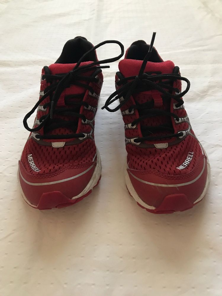 f4ce266b808 Merrell Performance Footwear. Men s Size 7.5. Red Black.Excellent  Condition.