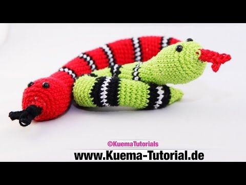 Amigurumi -Worm Karl ( free patterns) - YouTube | Butterflies ...