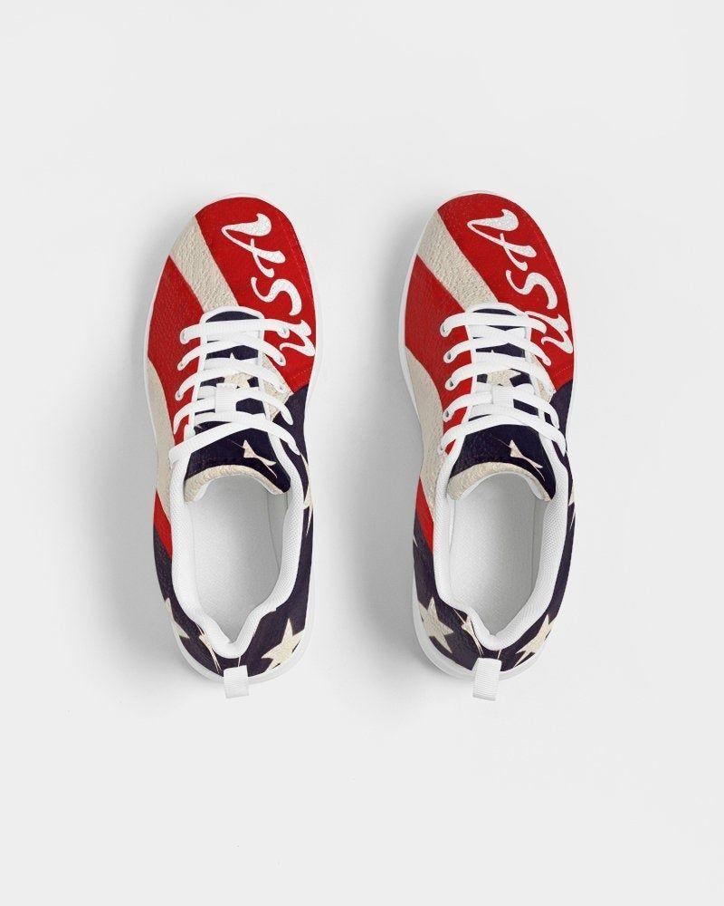 Flag Tennis Shoe Women 4th Of July Sneaker Usa Flag Sneakers Etsy In 2020 Women Shoes Womens Tennis Shoes Patriotic Sneakers