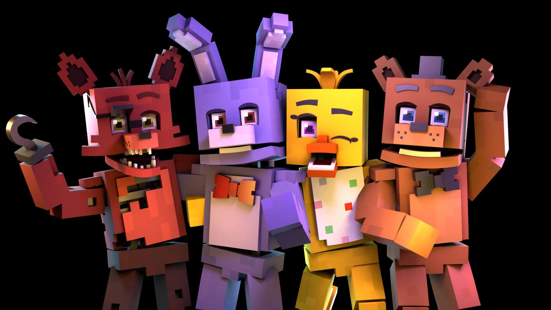Achebe Spencer On Twitter Fnaf Minecraft Fnaf Fnaf 1