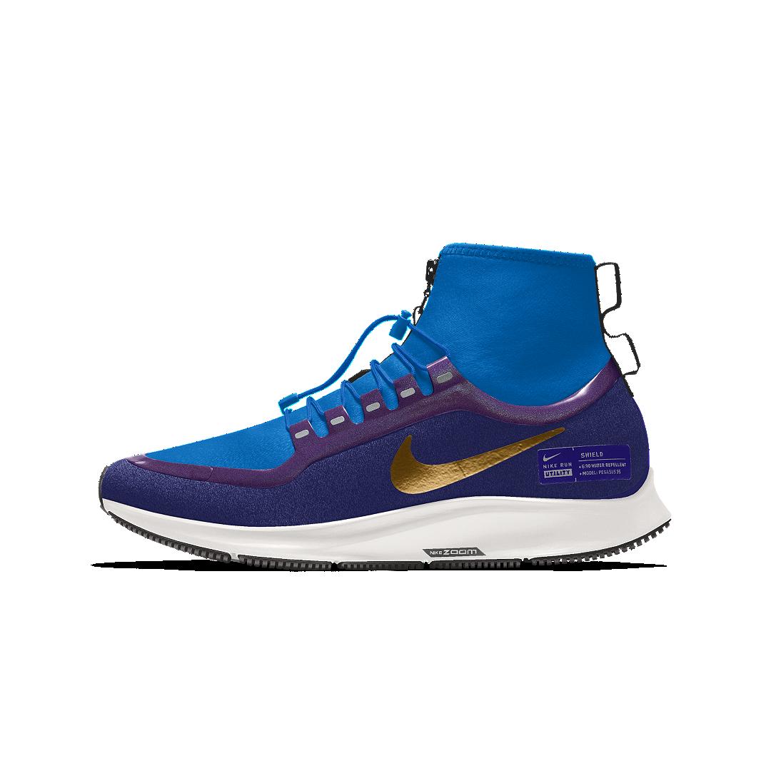 Nike Air Zoom Pegasus 35 Mid Shield Id Women S Running Shoe Size 10 5 Multi Color Nike Pegasus Womens Running Shoes Nike