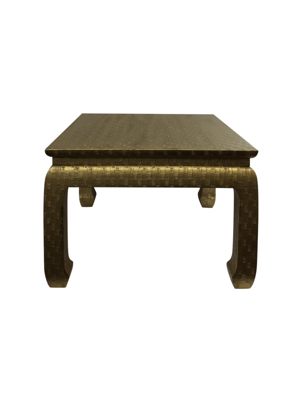 Gold ming foot small table