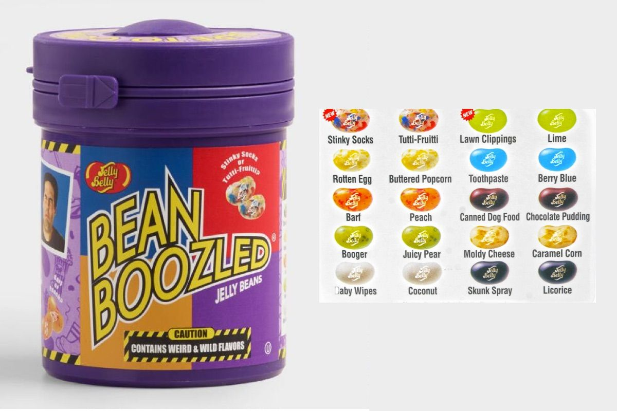 Jelly Bean Mystery Flavor Guessing Game Household Jelly