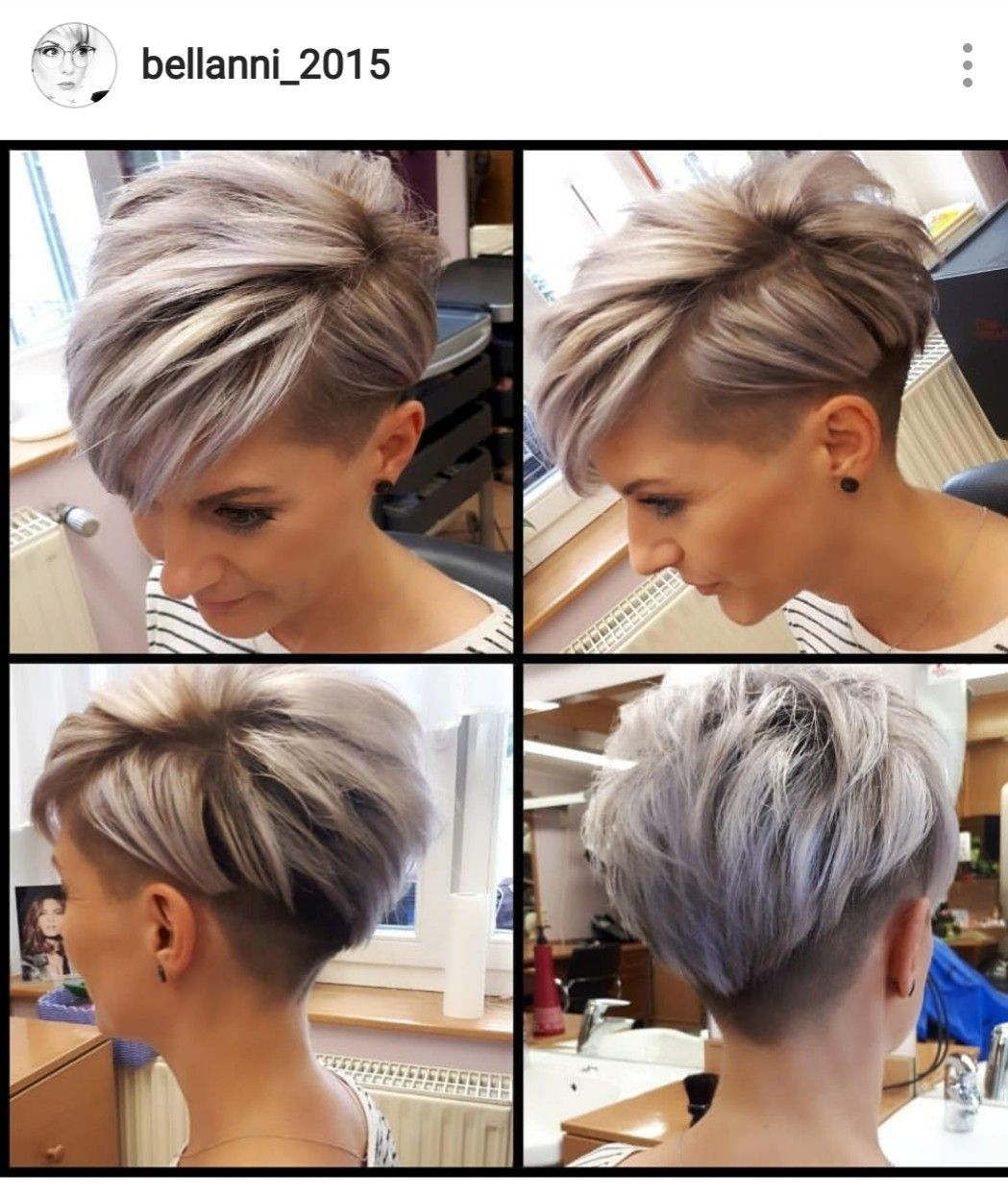 Pin by Ann Lloyd on Kapsels  Short hair undercut, Short hair