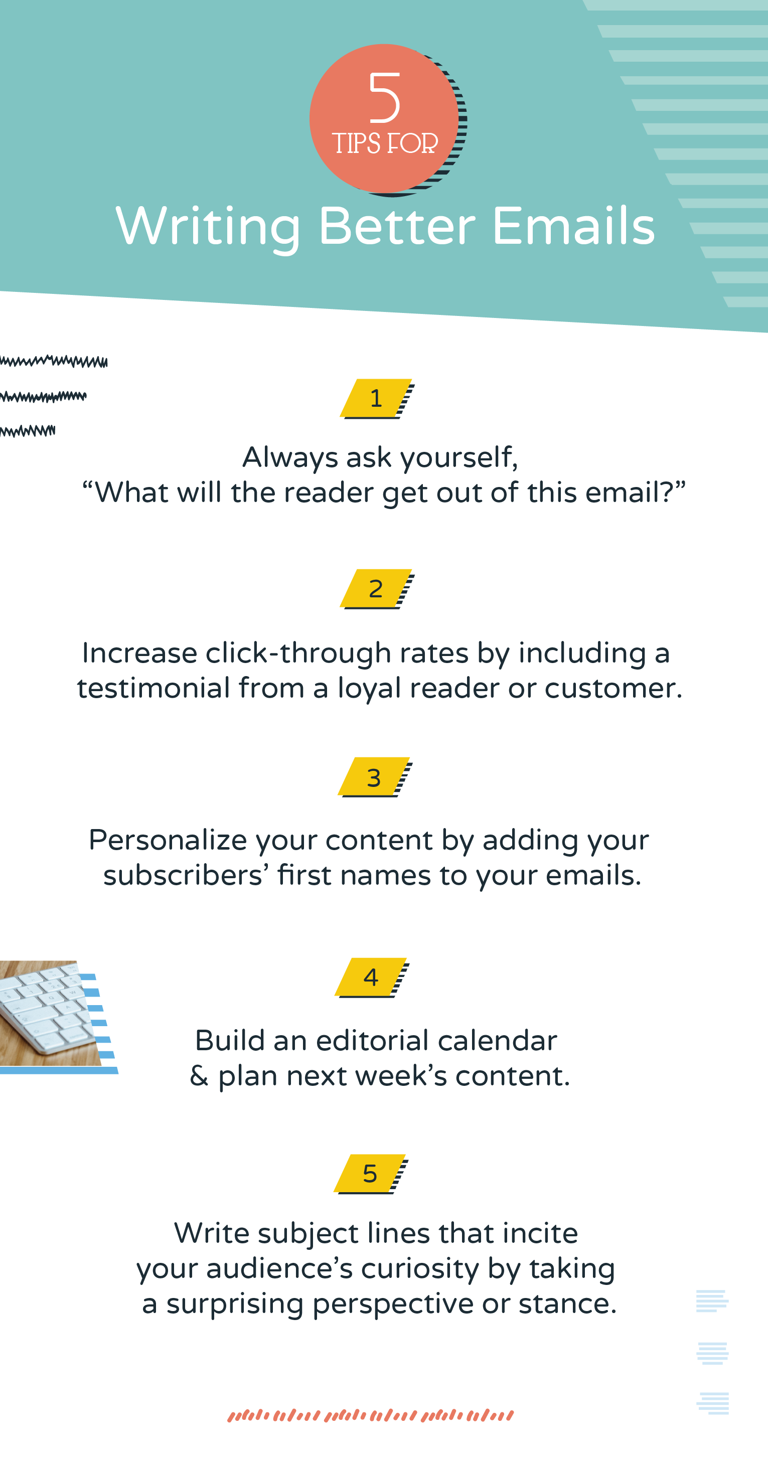 Try these 5 tips for writing better emails in minutes