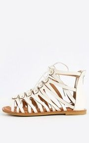 d665ef6aa1d6 Bamboo Impart-05 Strappy Gladiator Sandals Yellow Dress Shoes