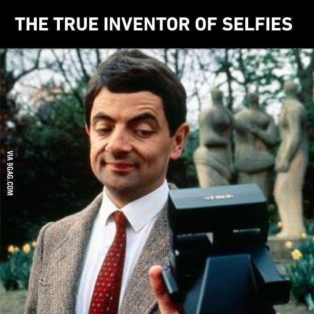 Mr. Bean is absolute legend.  #9GAG #MrBean #selfieinventor  @9GAGmobile by 9gag