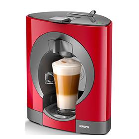 OBLO Red, Krups coffee machine