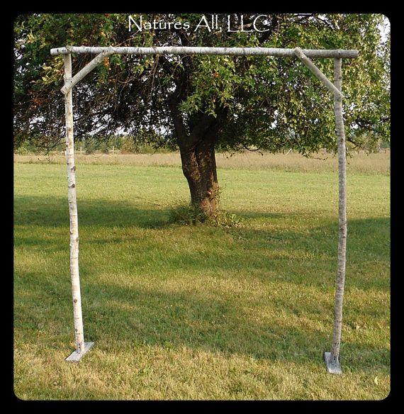Rustic Wedding Altar Ideas: DIY Aspen Wedding Arch/Rustic Aspen Wedding Arch Kit