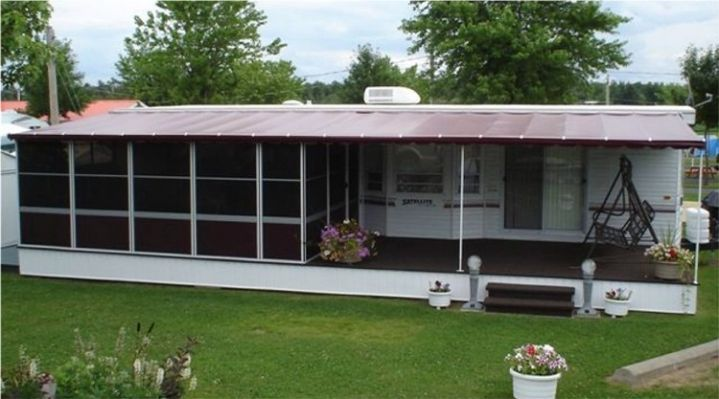 Trailer Deck Enclosure System Lodge Deck Screen Room Ideas Pinterest Deck Enclosures Rv
