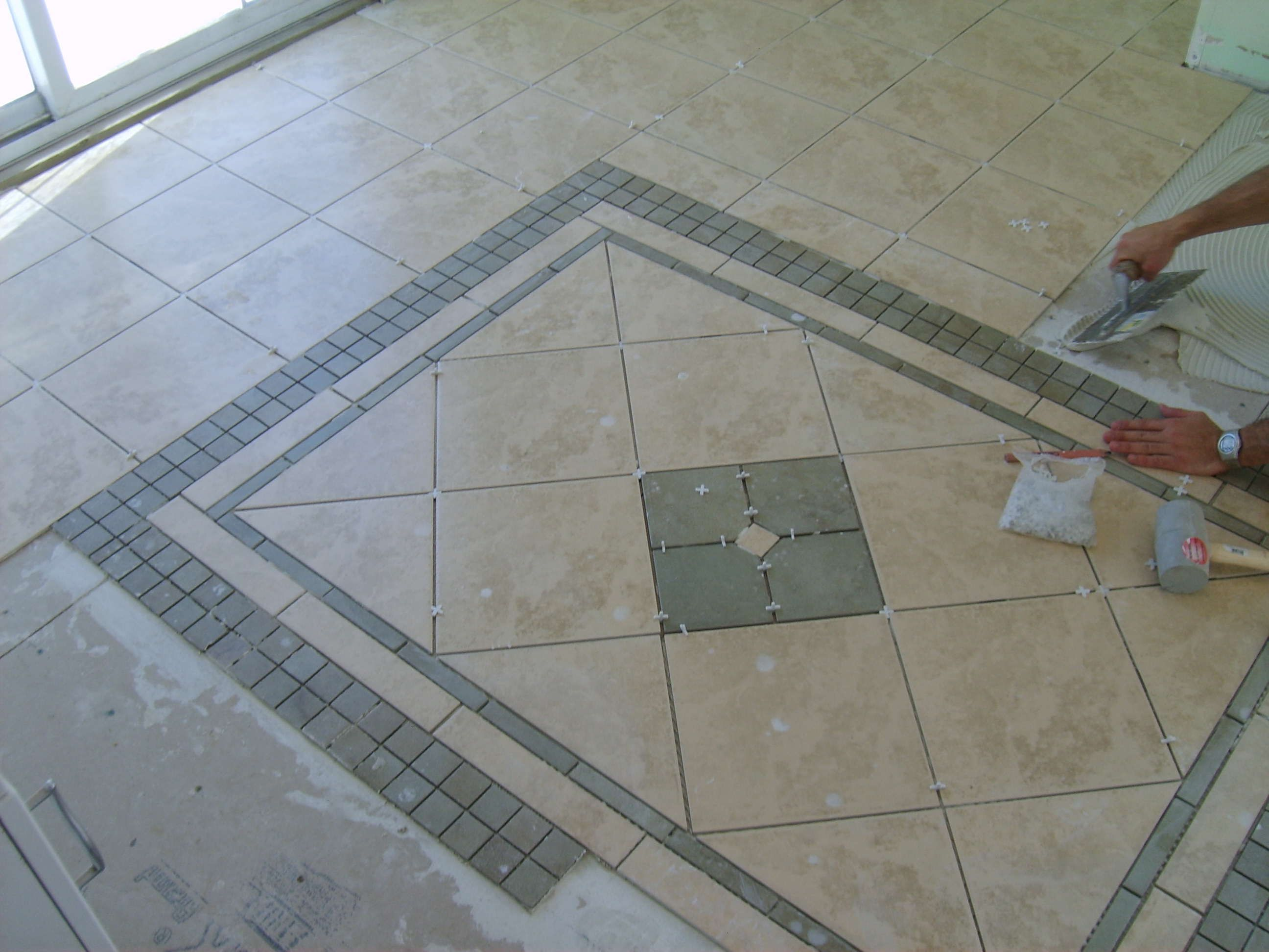 Entry Tile Patterns Floor Patterns For Tile Posted By