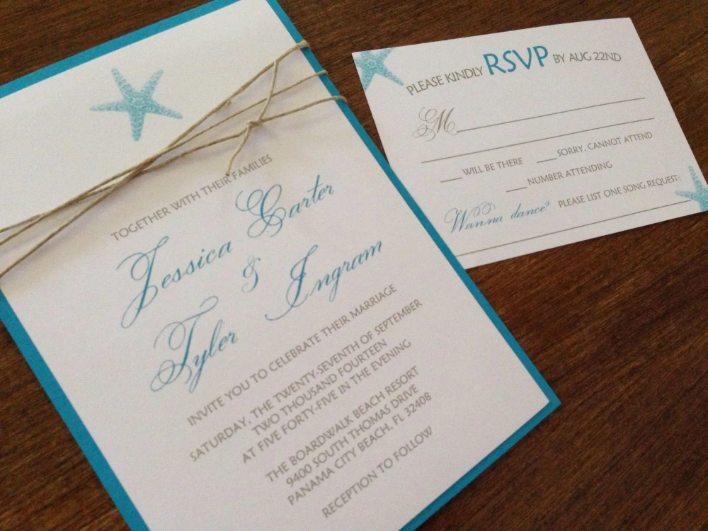 Birthday Invitations Beach Wedding Invitation Sets Invite Card Ideas Invite Card Ideas