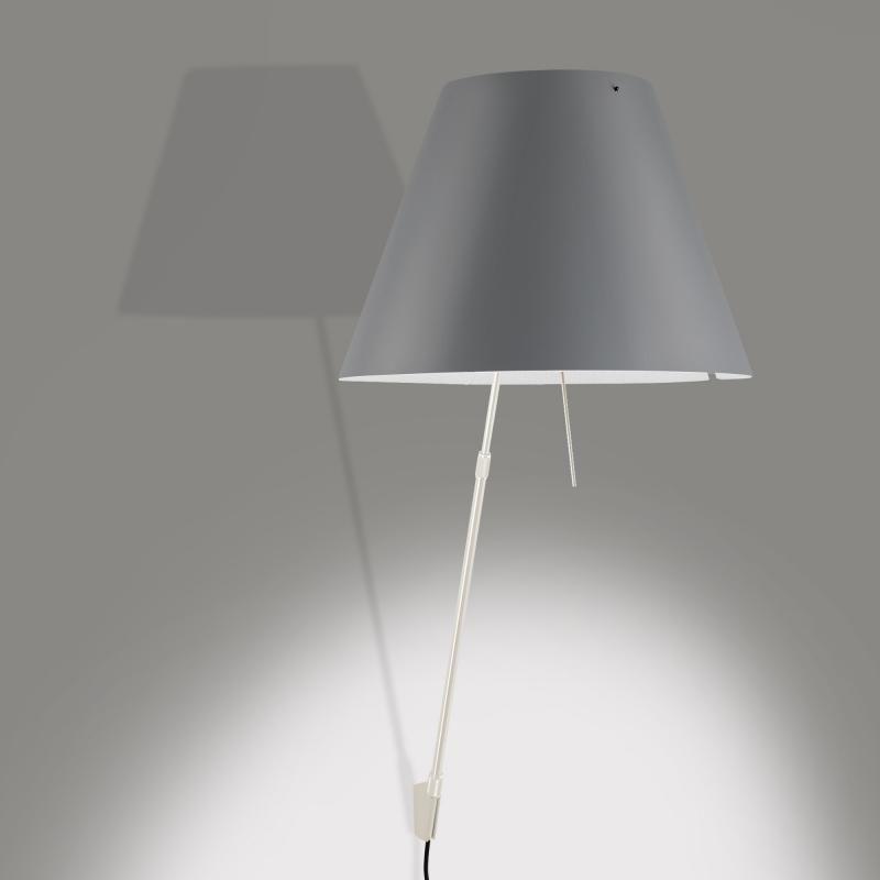 luceplan costanzina wandleuchte mit ein aus schalter licht wandleuchte schalter und w nde. Black Bedroom Furniture Sets. Home Design Ideas