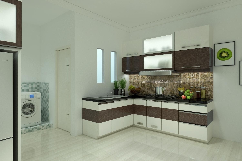 Interior dapur minimalis kitchen set makassar portofolio - Design interior kitchen set minimalis ...
