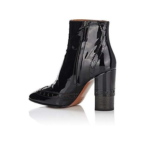 7bded8277973 Chloé Perry Patent Leather Ankle Boots