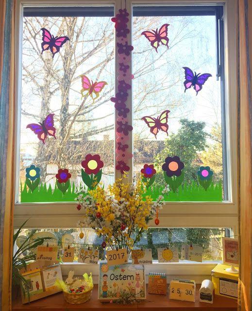 Frühling im Klassenzimmer  Schule  Pinterest