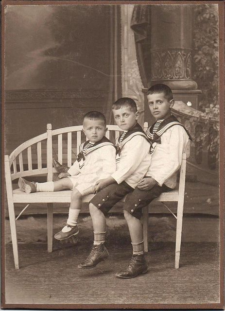Three Boys In Sailor Suits