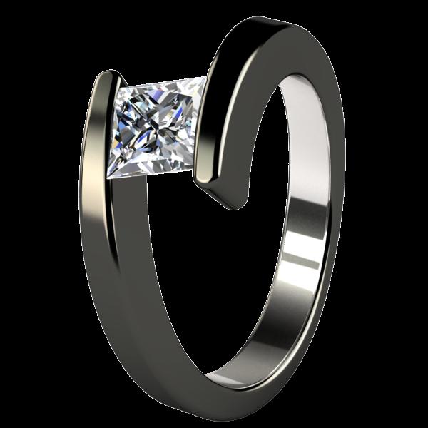 Etoile Companion Titanium Ring Titanium Wedding Ring Sets Titanium Wedding Rings Black Titanium Ring