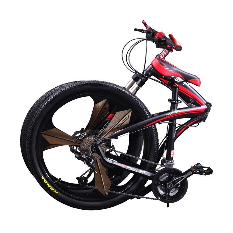 601 Richbit Bicycle 26inch Mens Aluminum Folding Mountain
