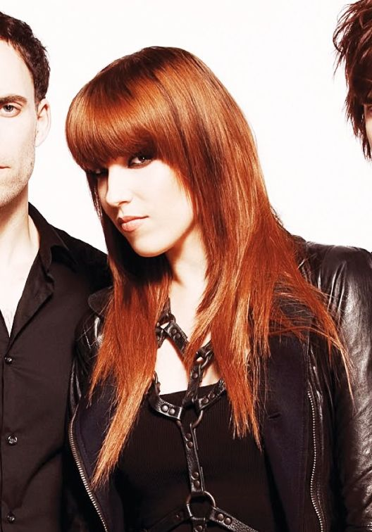 Lzzy Hale Of Halestorm In Red Hair Mode Lzzy Hale Hairstyle Long Hair Styles