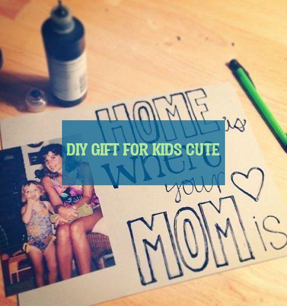 Diy Geschenk Für Kinder Cute