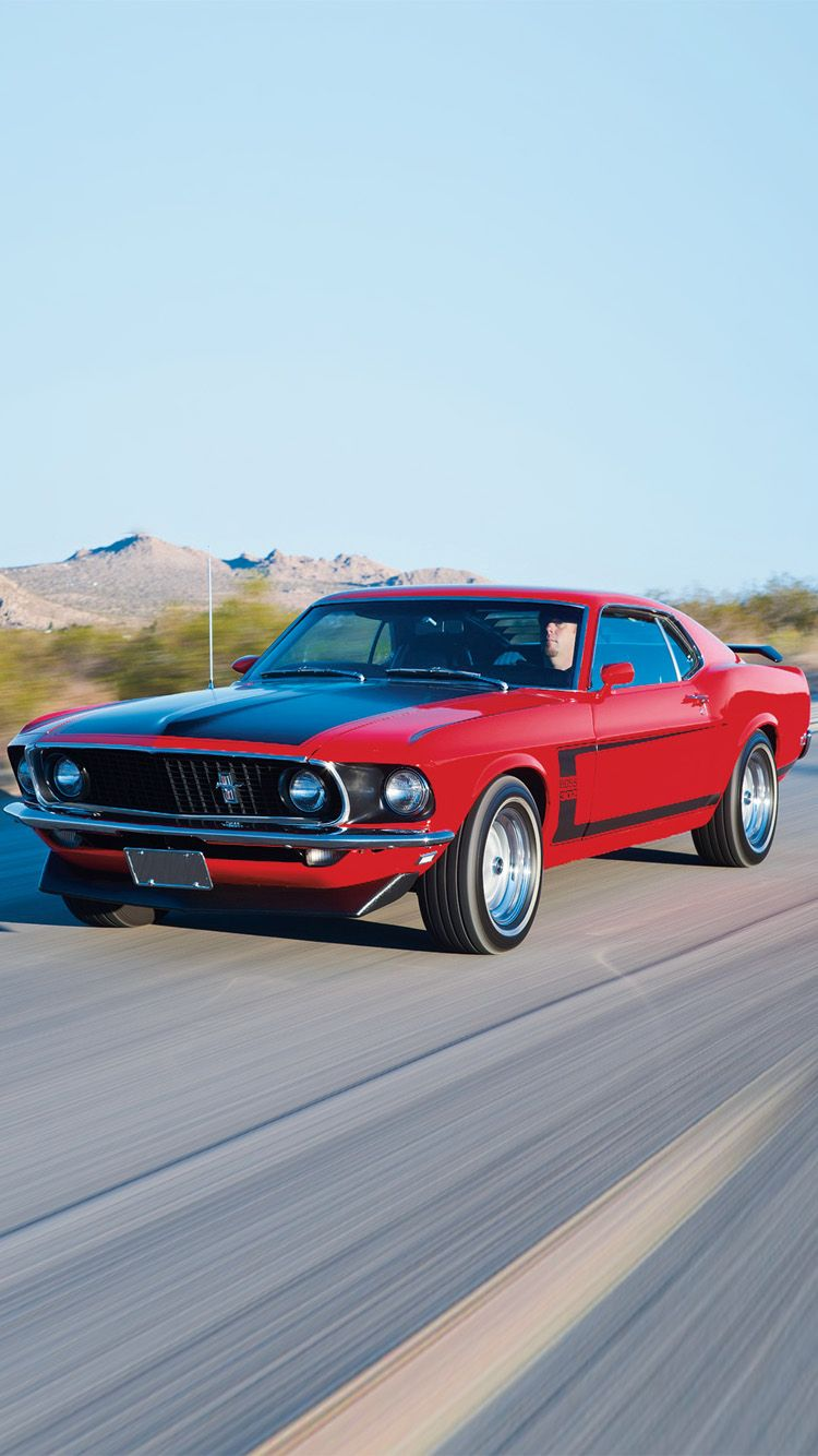 1969 ford mustang wallpaper for iphone 6 6 plus