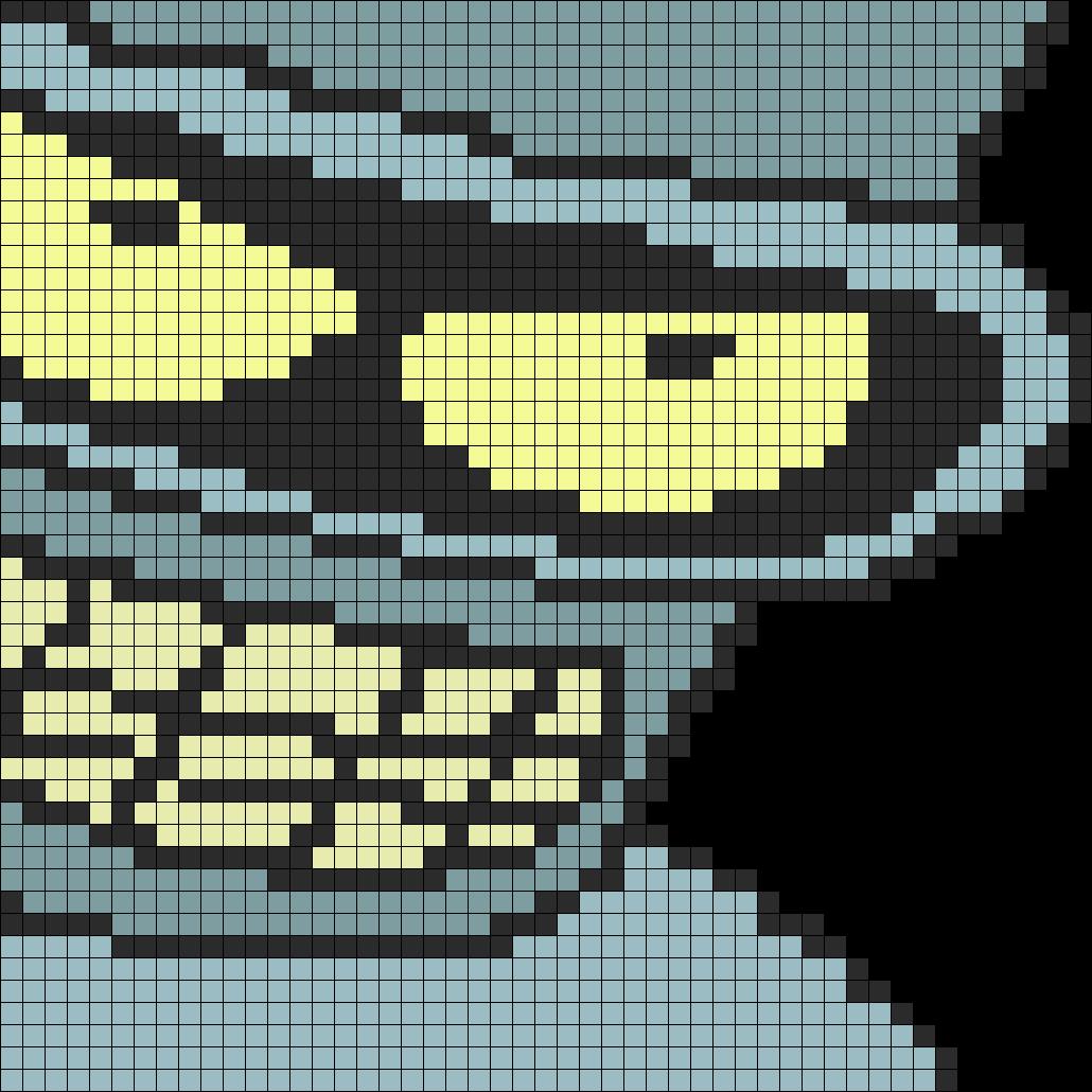 Futurama Bender Perler Bead Pattern / Bead Sprite | craft ...
