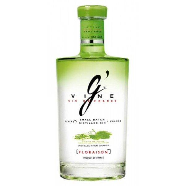 G Vine Floraison Small Batch Gin Gin Brands Gin Bottles