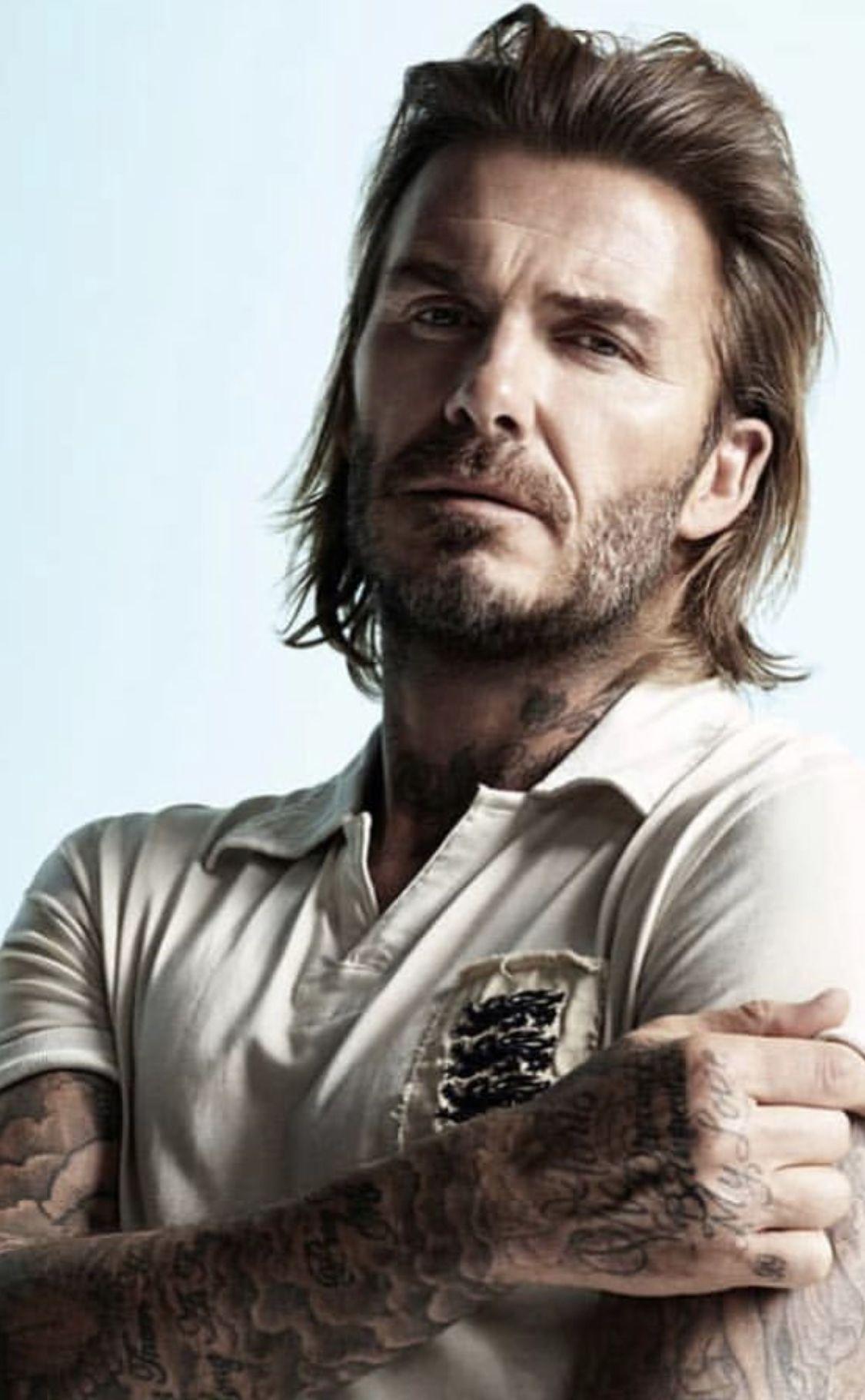 Pin By David Beckham On David Beckham David Beckham Long Hair David Beckham Hairstyle Beckham Hair
