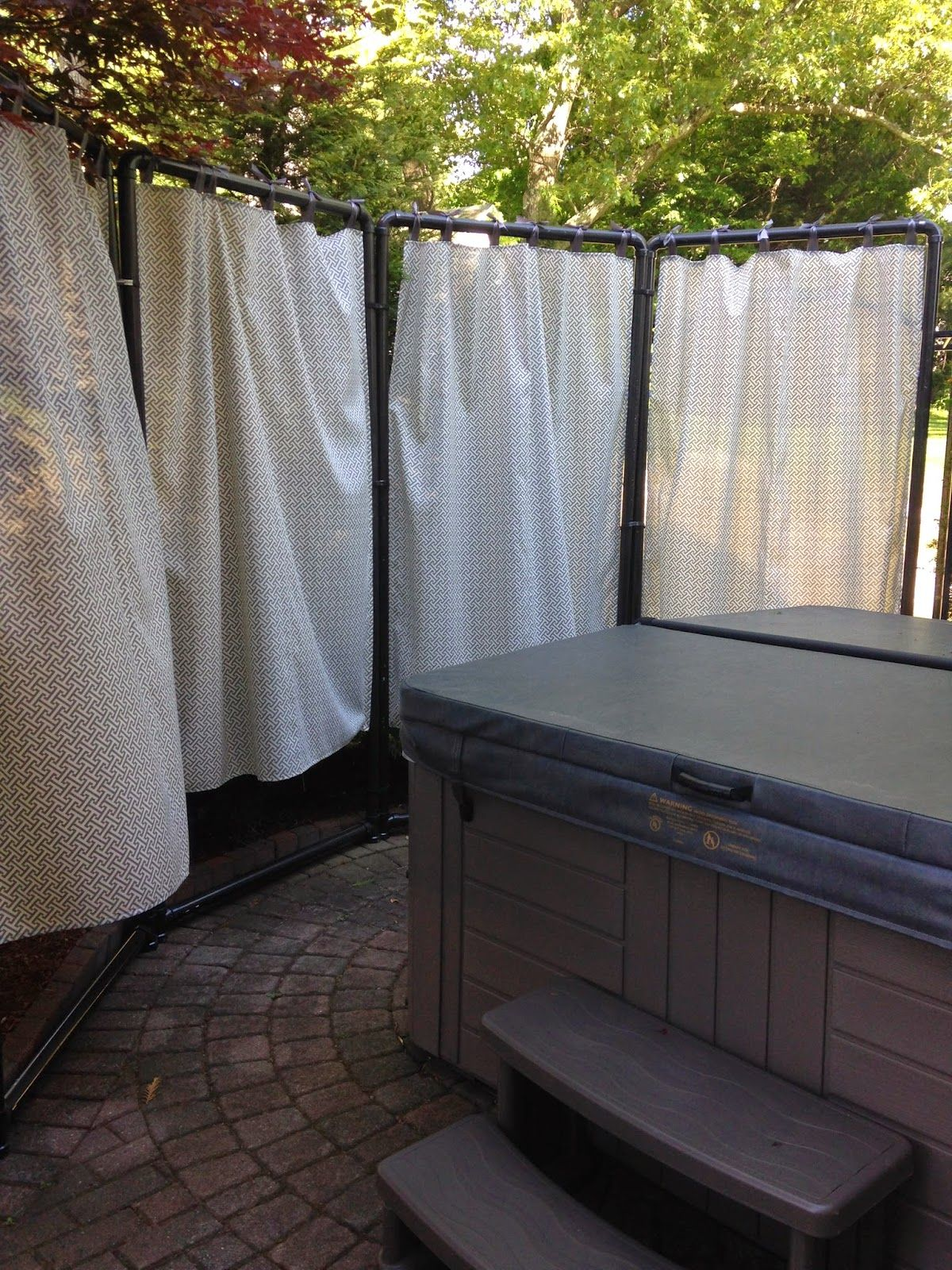 Diy Patio Privacy Screen Ideas: Bless Your Heart: DIY Privacy Screen