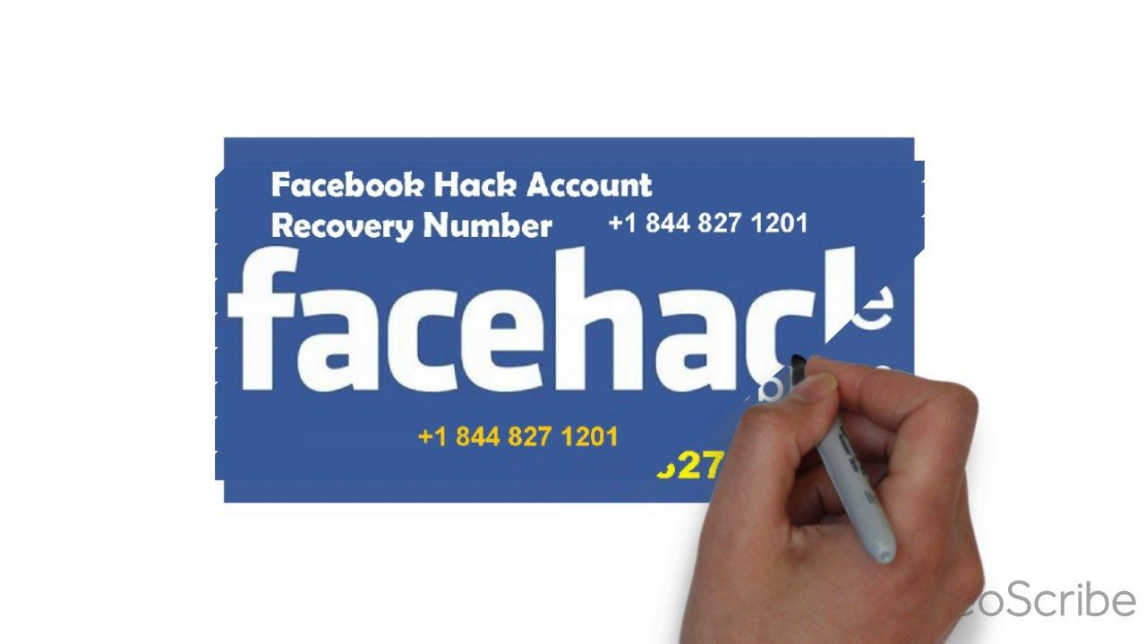 Facebook hack account recovery number 1 844 827 1201