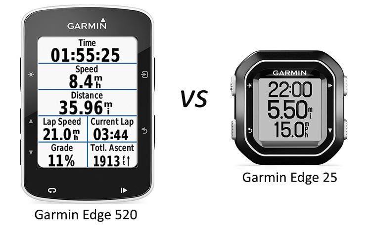Garmin Edge 520 Vs 25 With Images Garmin Edge Garmin Garmin