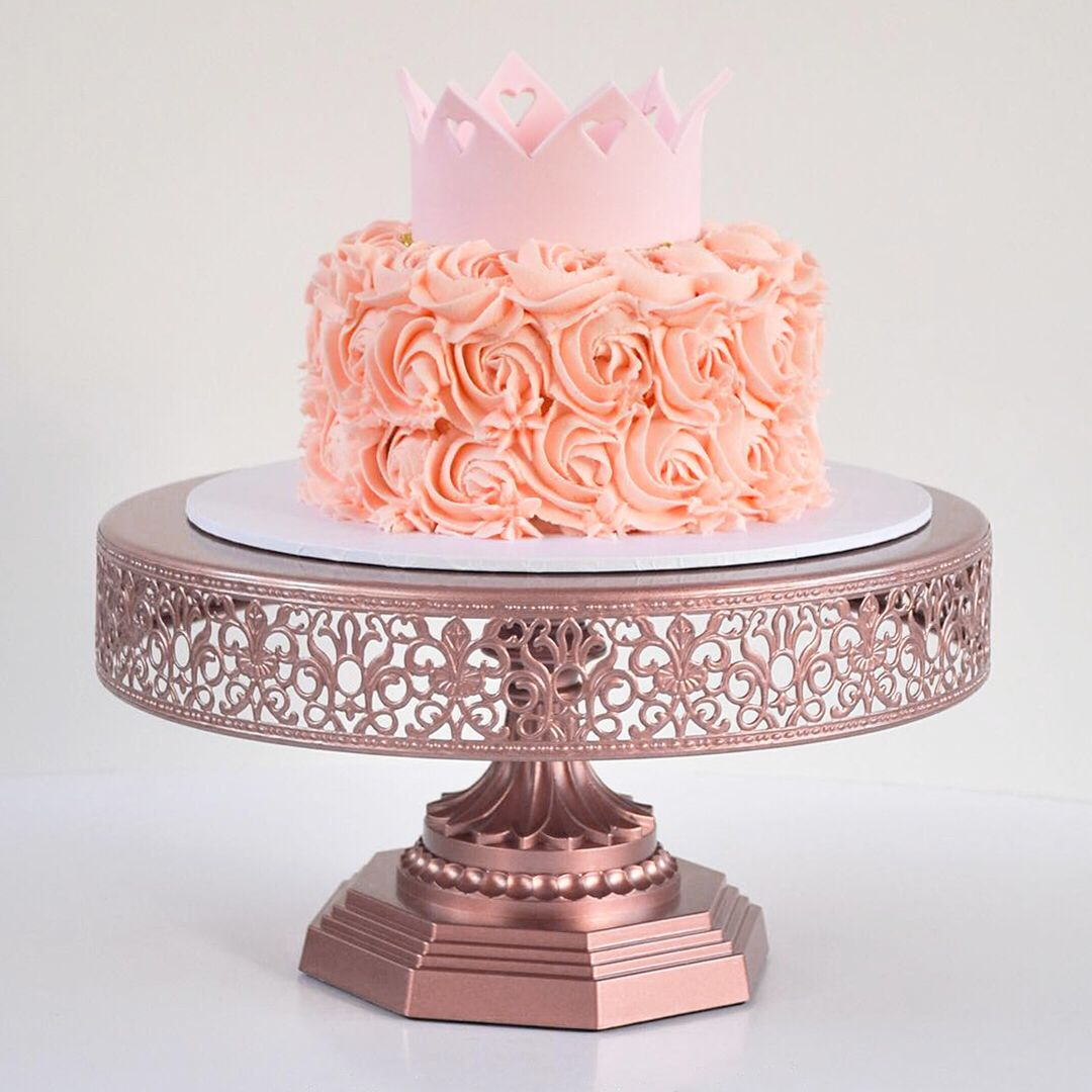 Adorable Princess Crown Rosette Birthday Cake Cake Savoury Cake Mini Cakes