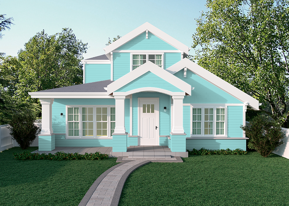 blue paint colors the home depot tropical waterfall on home depot paint colors exterior id=52140
