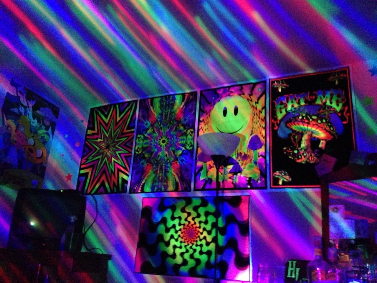 Trippy Room Tumblr Trippy Room Kitchen Fireplace