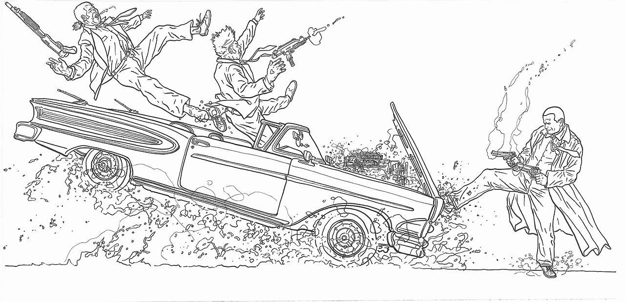 Coloring Book Artist Job Best Of Art By Geof Darrow Geof Darrow Dessin Illustrations