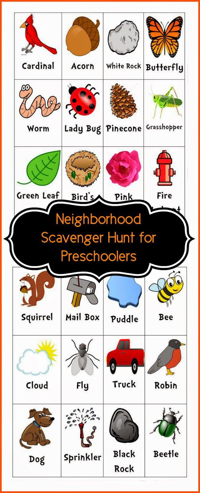 22++ Outside neighborhood scavenger hunt ideas in 2021