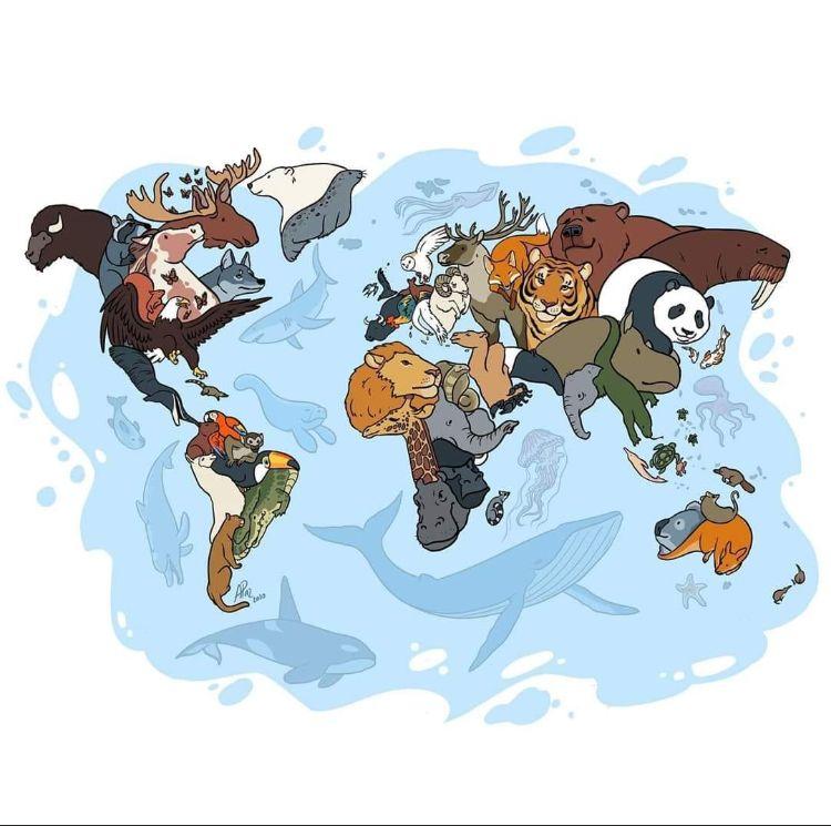 Pin De Mariana Delgado En Wallpapers En 2020 Poster Arte De Mascotas Mapas Del Mundo