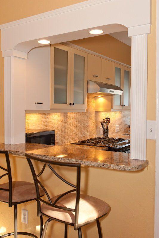 kitchen pass through w/lighting   followpics/kitchen-pass - remodelacion de cocinas