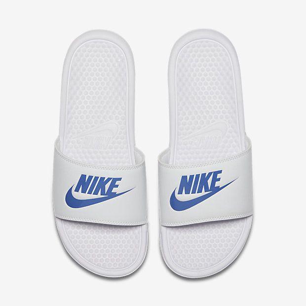 Nike Benassi Chanclas - Hombre | Chanclas nike, Hombres nike ...